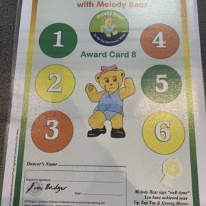 Tip Tap Toe and Groovy Moves Chart 8