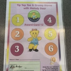 Tip Tap Toe and Groovy Moves Chart 12