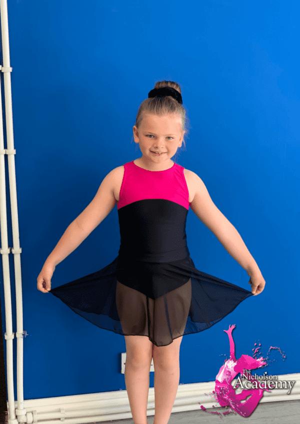 Prep primary skirt